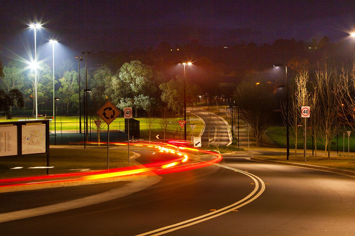 CSU Bathurst Roundabout & Roadworks